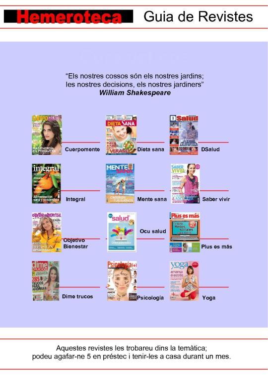 guia revistes cura del cos