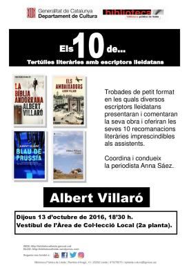 els_10_de_albert_villaro_cartell