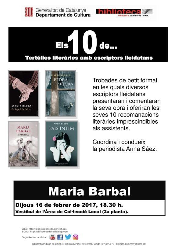 els_10_de_maria_barbal_cartell
