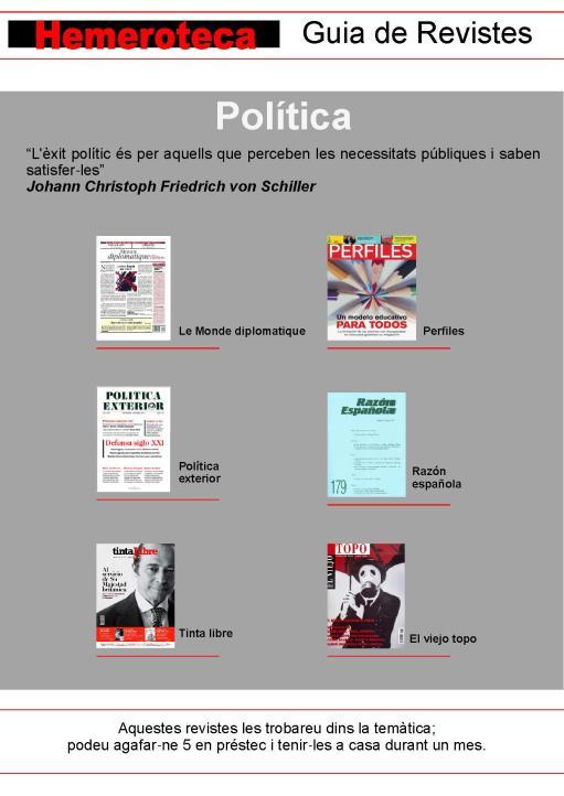 revistes política